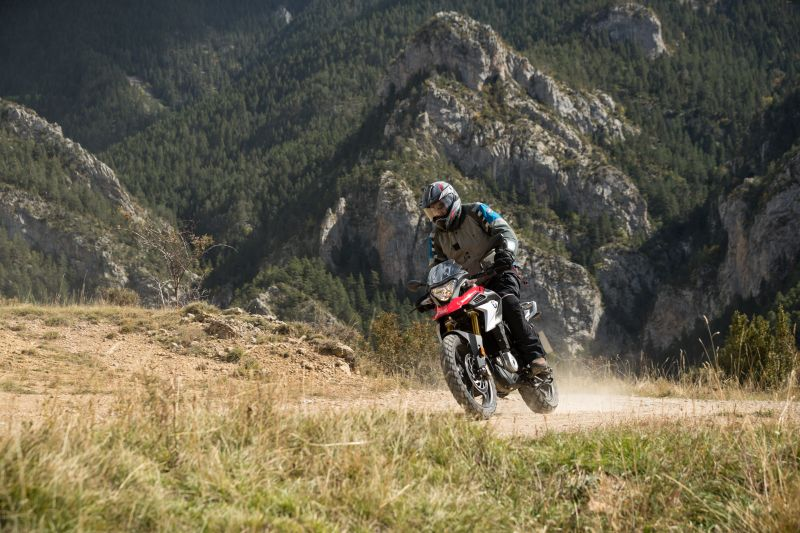 BMW 310GS baby adventure bike