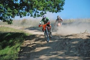Off-road enduro day
