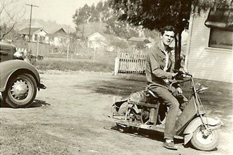 Hollywood WWII motorcycle