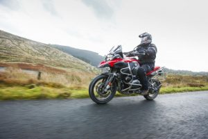 BMW R1200 GS Adventure in action