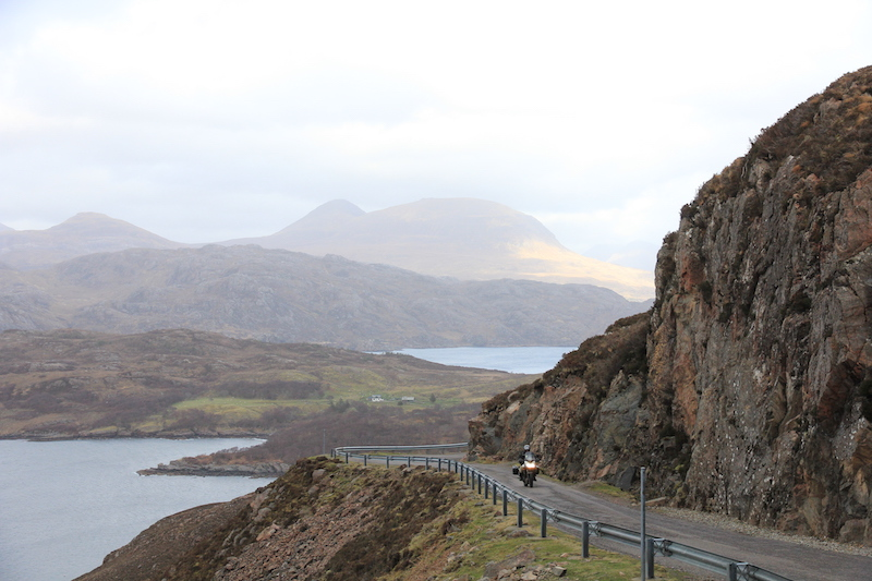 Applecross to Torridon road is one of the most scenic rides in the UK