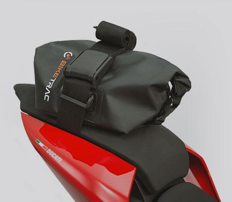 BikeTrac hard security bag