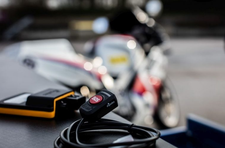 Dguard SOS button for motorcycle