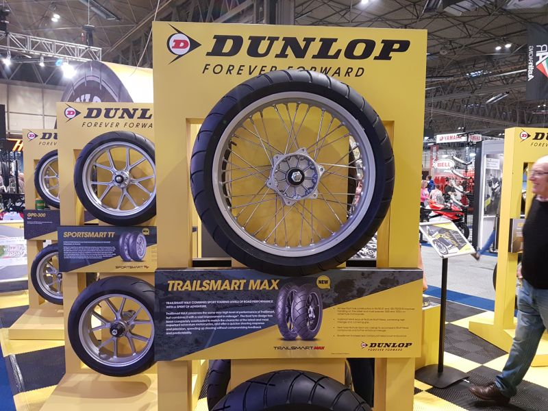 Dunlop TrailSmart Max motorcycle tyres
