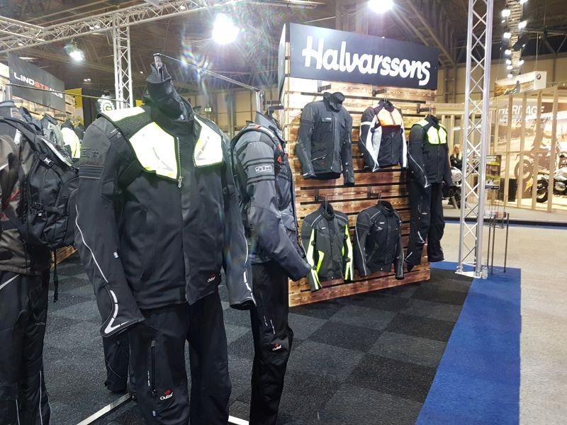 Halvarssons textile jacket