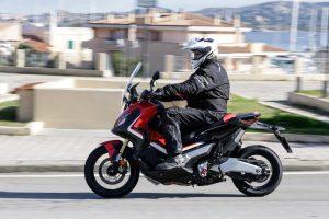 Honda X-ADV around town