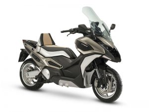 The Kymco C Series Adventure Scooter