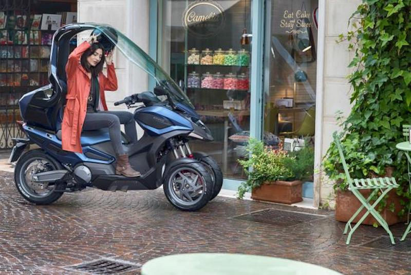 Kymco C Series with roof