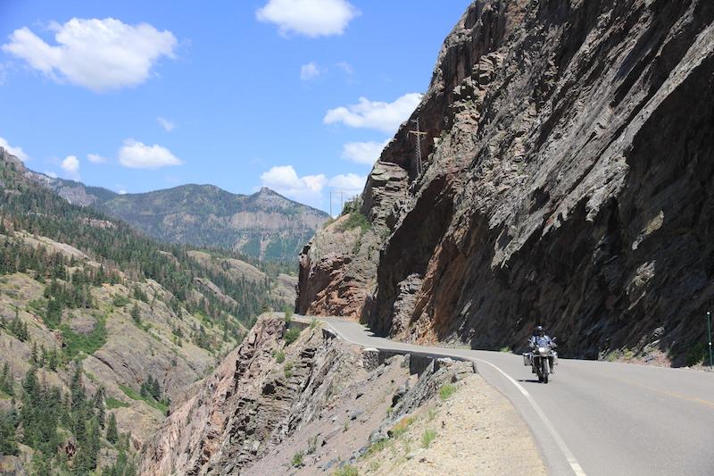 Million Dollar Highway in Colorado