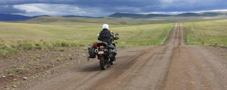 off road motorcycling to salida