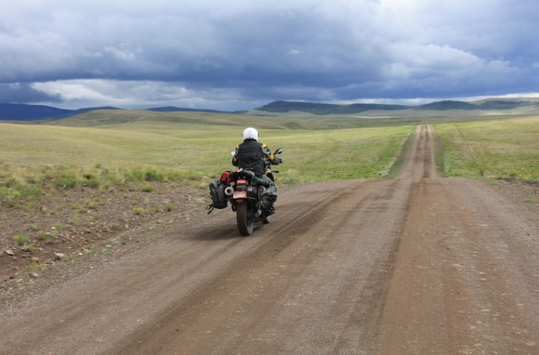 off road motorcycling to salida