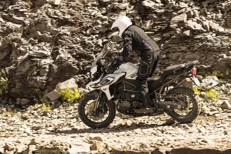 Off-road Triumph Tiger 1200