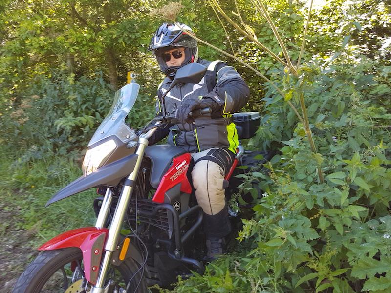 Riding the Sinnis 125 Terrain off-road