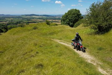 Sinnis 125 Terrain in the cotswolds