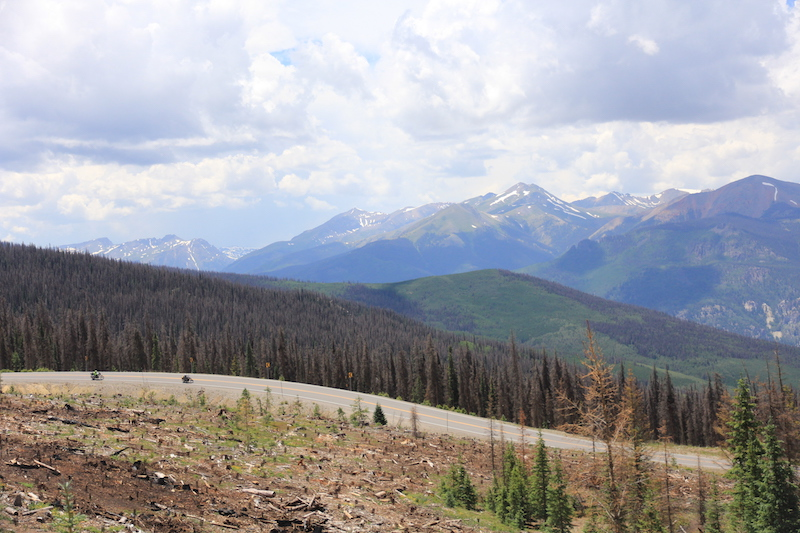 Slumgullion Pass in the Rocky Mountains