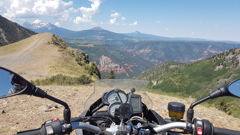 Riding in Colorado