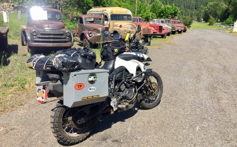 Sam Manicom motorcyle