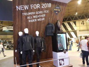 Triumph new Gore-Tex rider wear