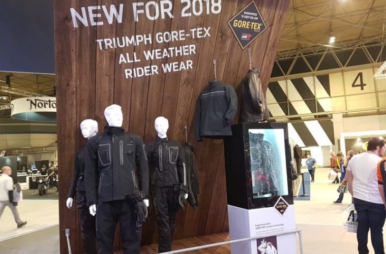 Triumph new Gore-Tex rider wear