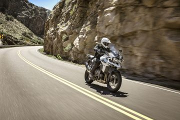 Triumph Tiger 1200 on road