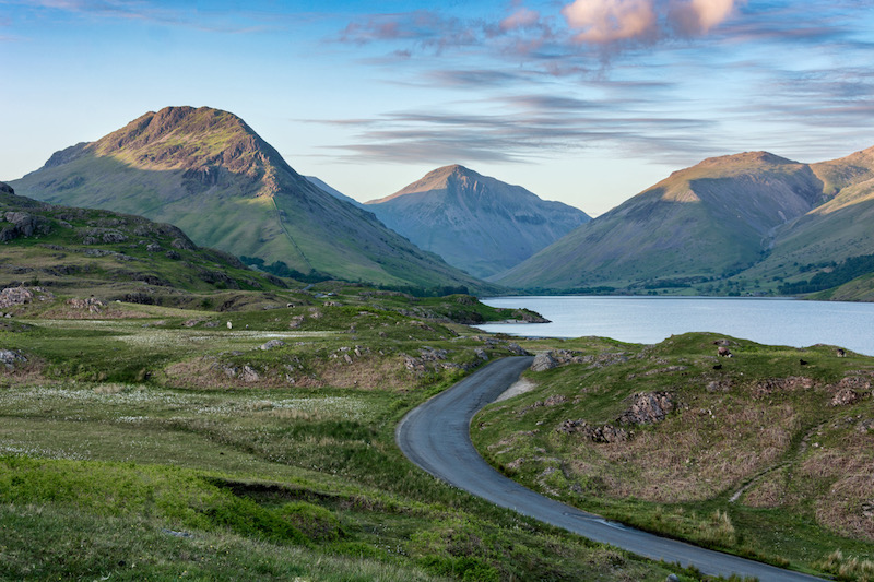 wasdale head in the lake district