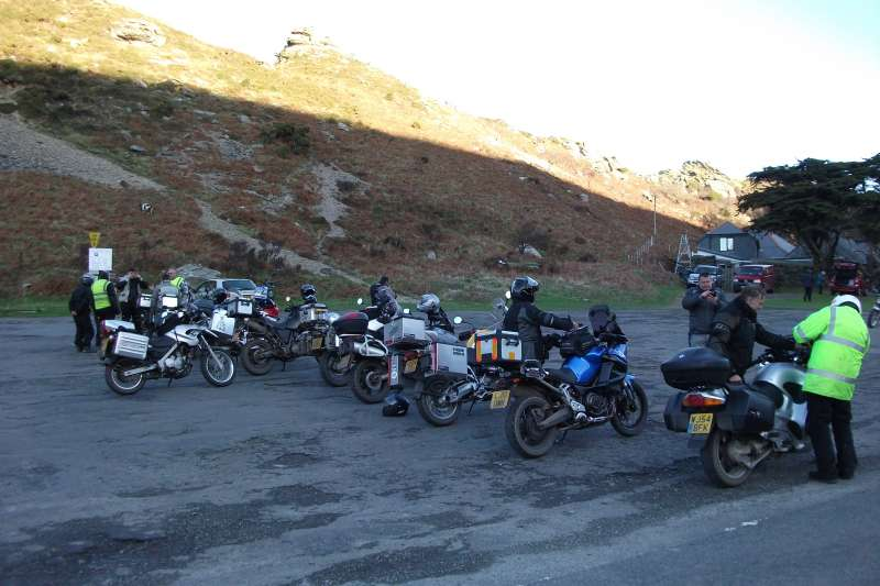 ABR Yuletide rally motorcycle event