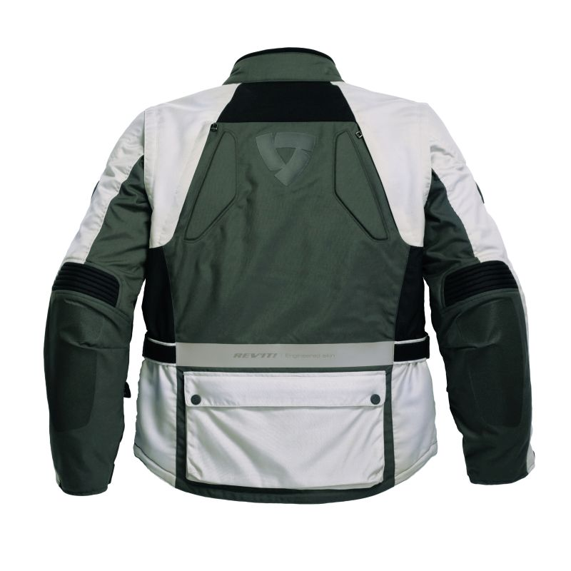 Motorcycling touring jacket back