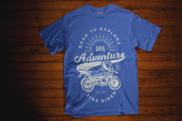 ABR born to explore t-shirt