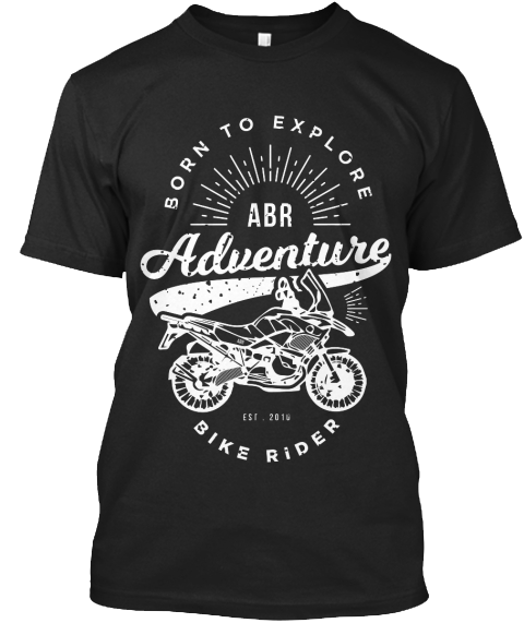 Adventure Bike Rider T-shirt black