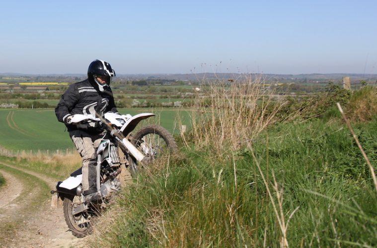 How to ride ridges