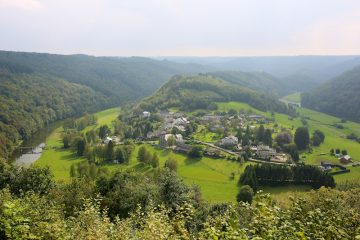 A motorcycle route in the Ardennes