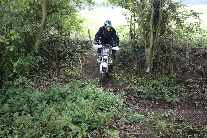 green laning on a husqvarna 701