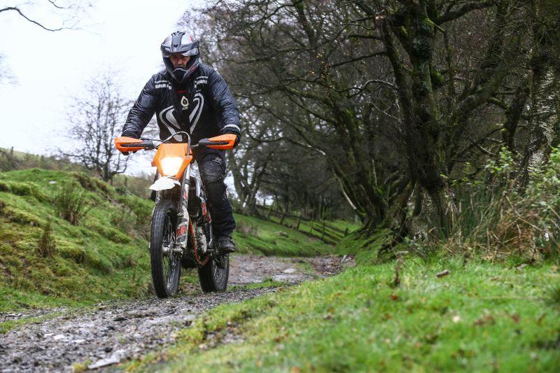 KTM Freeride 250 in action