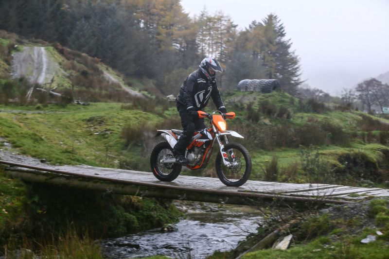 KTM Freeride bridge