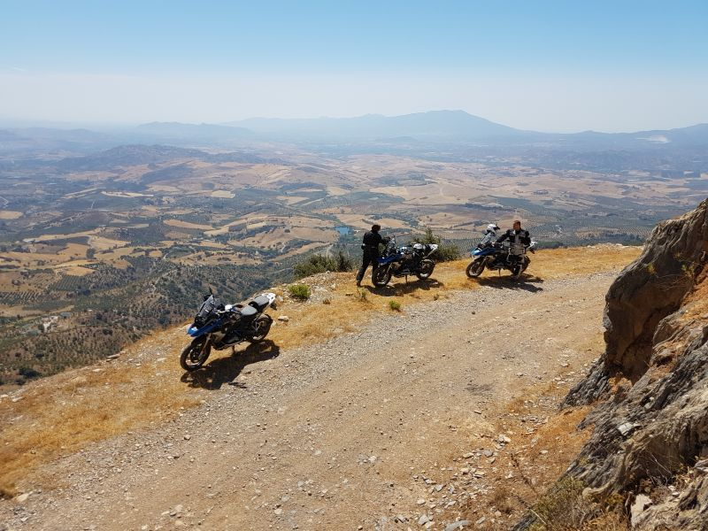 Landscape view Spain