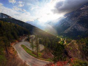 Maloja Pass Switzerland
