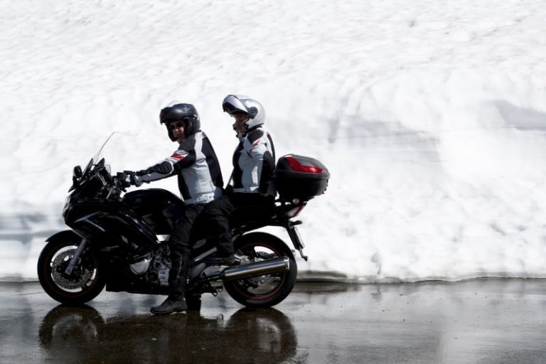 Motorcycling injurues cold weather