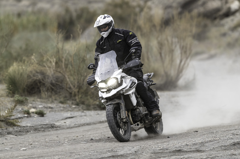 Triumph Tiger 1200 off-road