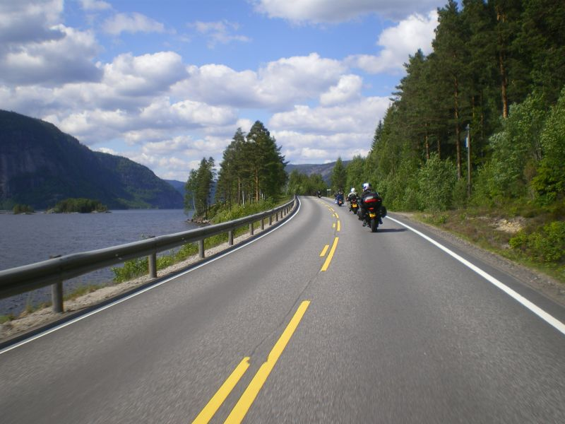 Motorcycling in Norway