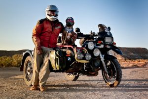 Meet the man and his dog who rode around the US for over 10 years