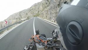 Crazy wind in croatia