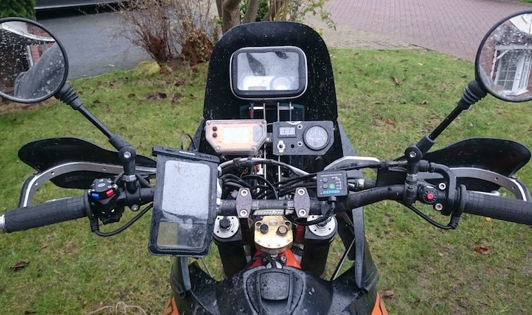 How to fit heated grips on a motorcycle