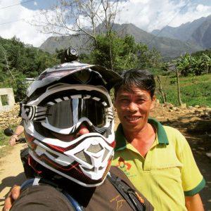 Meeting locals in Vietnam