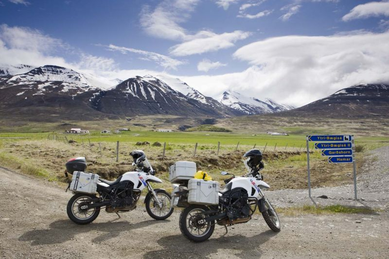 motorcycling Iceland