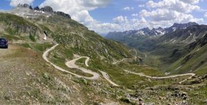 Nufenen Pass Switzerland
