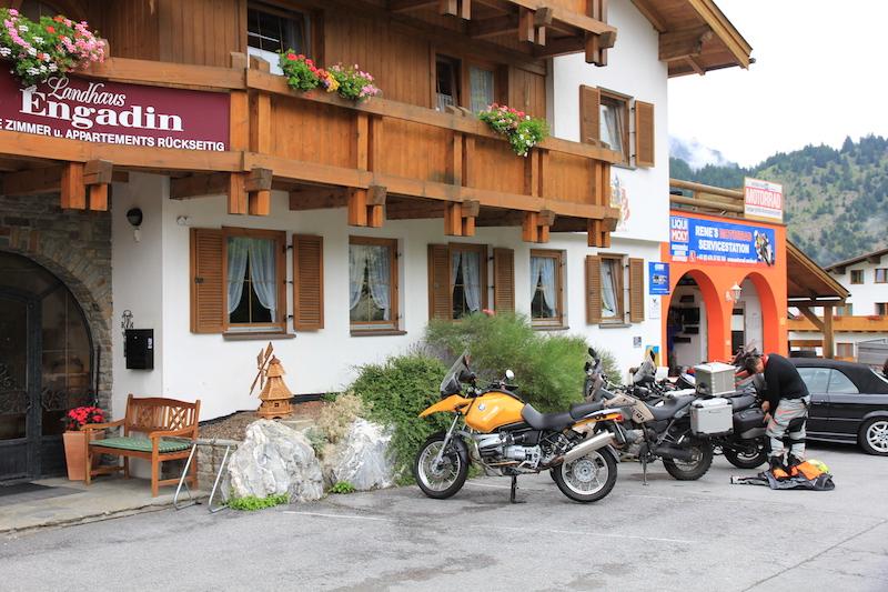Bike Garage in Austria