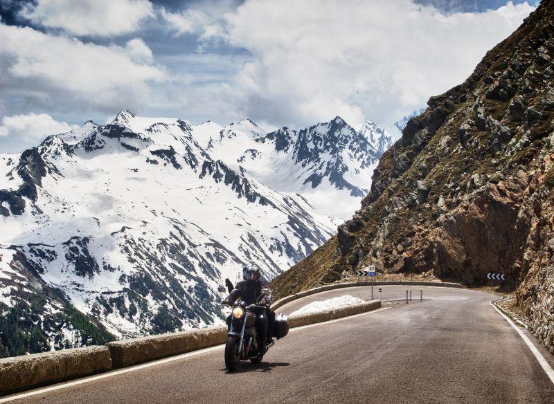 Timmelsjoch pass Italy