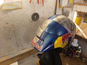 Craig's custom motorcycle helmet