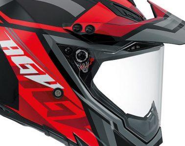 AGV AX-8 Dual Evo Karakum helmet cropped