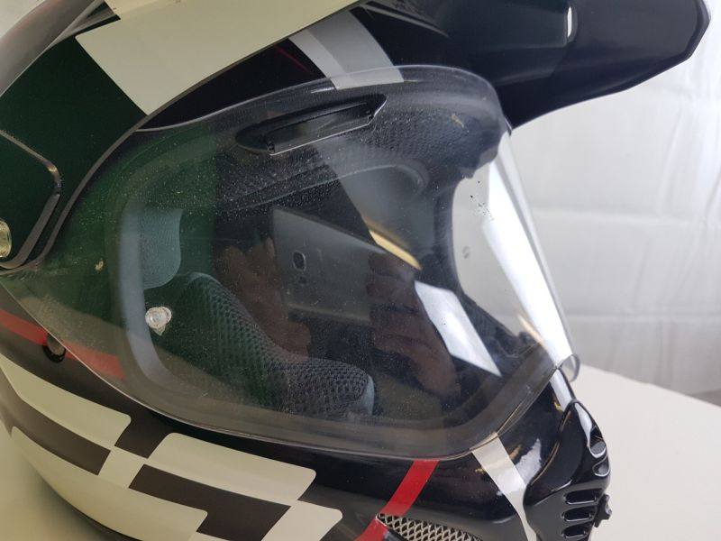 Arai Tour X4 helmet side